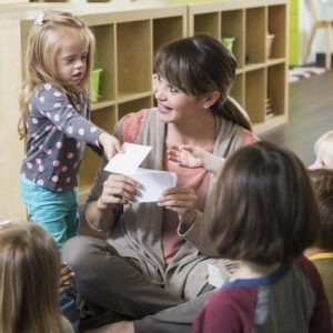 Childcare setting for disabled children
