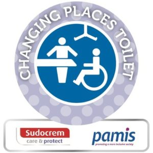 changing places toilet image for sudocrem accessible toilets award