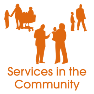services in the community