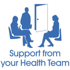 support from your health team
