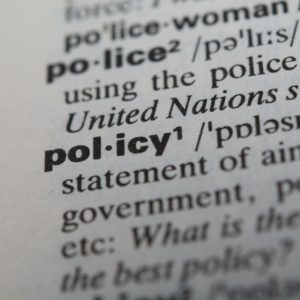 Policy piece