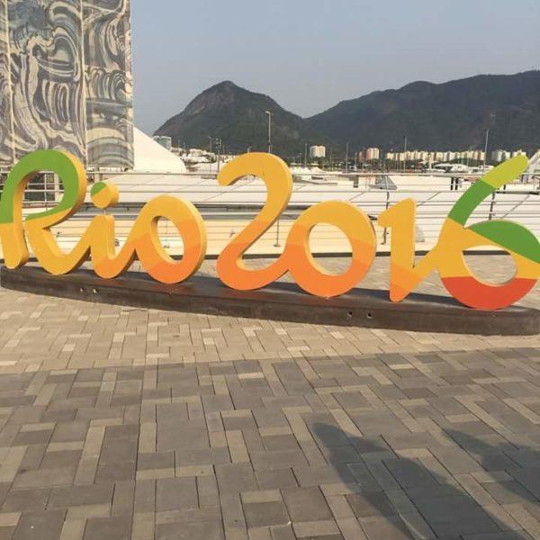 Rio 2016 Sign