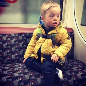 Oscar on the underground