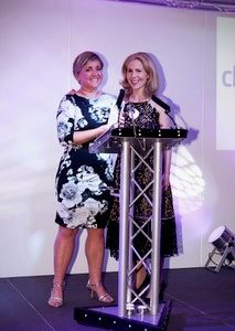 BAPS Awards Newo=comer Winner Tina and Sally Phillips