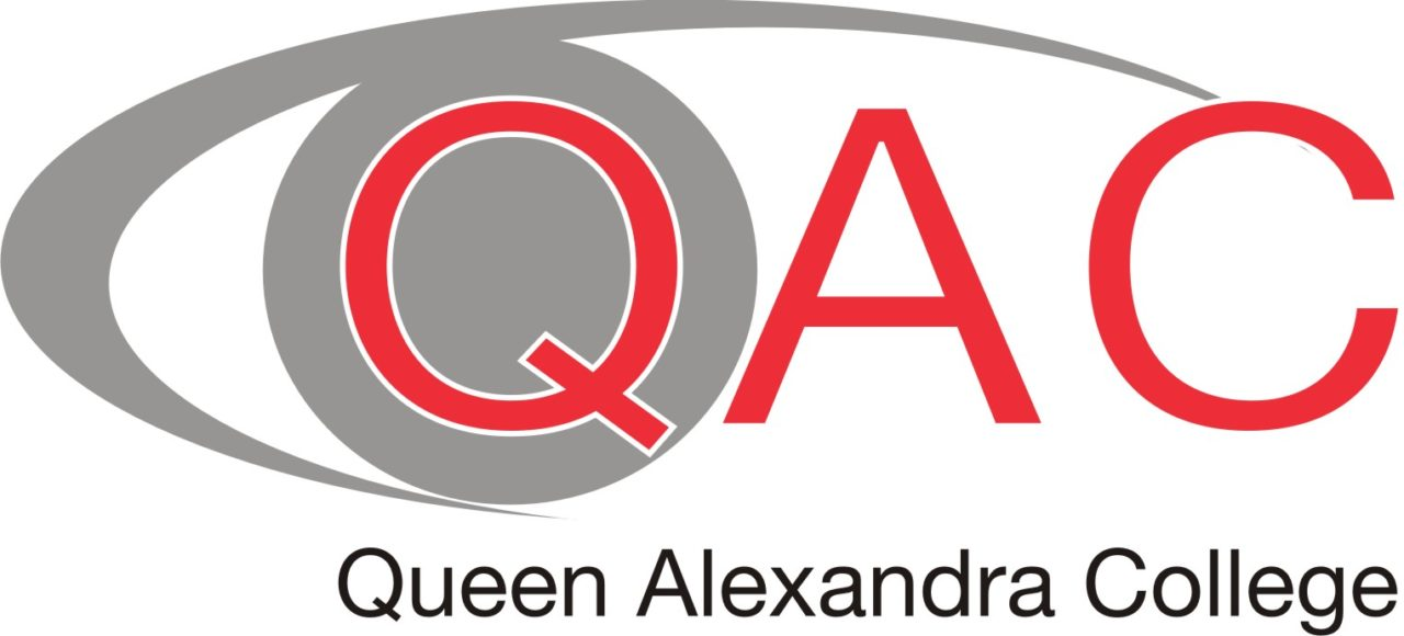 Queen alexandra college logo