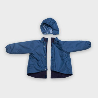Willow Bug Navy back fastening jacket in 2 pieces
