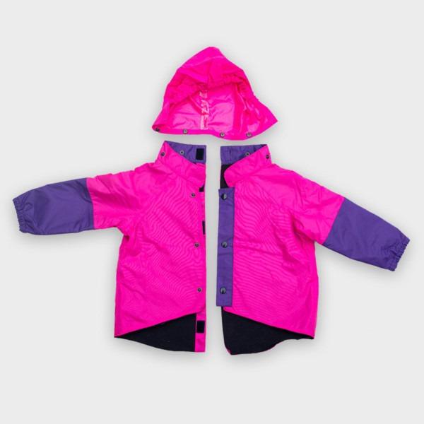 Willow Bug Children's wheelchair clothing pink back fastening jacket