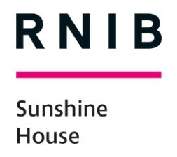 RNIB Sunshine House Logo