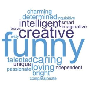 PDA Action Day 2018 - words used to describe people with PDA