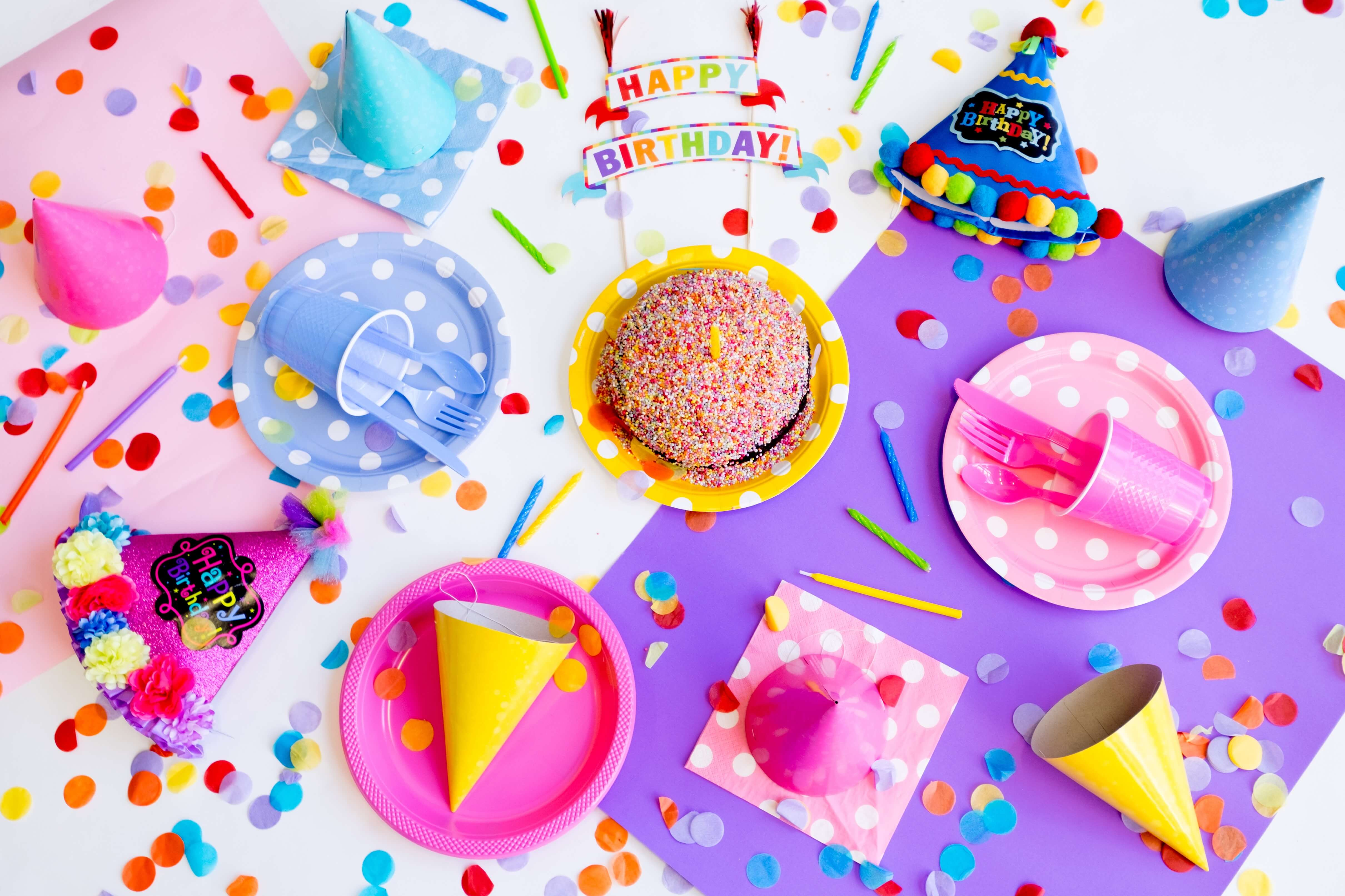 5 Top Tips For Throwing Birthday Parties