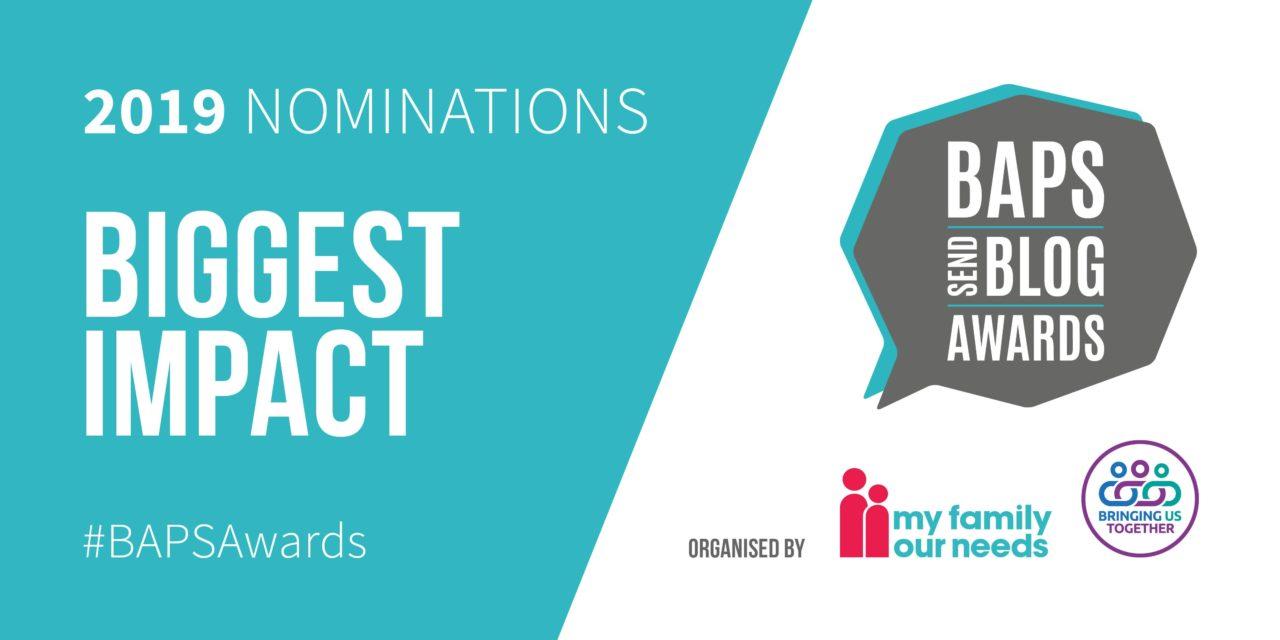 Baps 2019 nominations for biggest impact