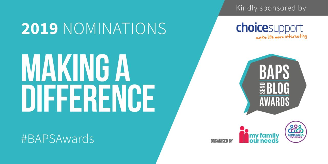 BAPS Awards nominations for blogger making a difference