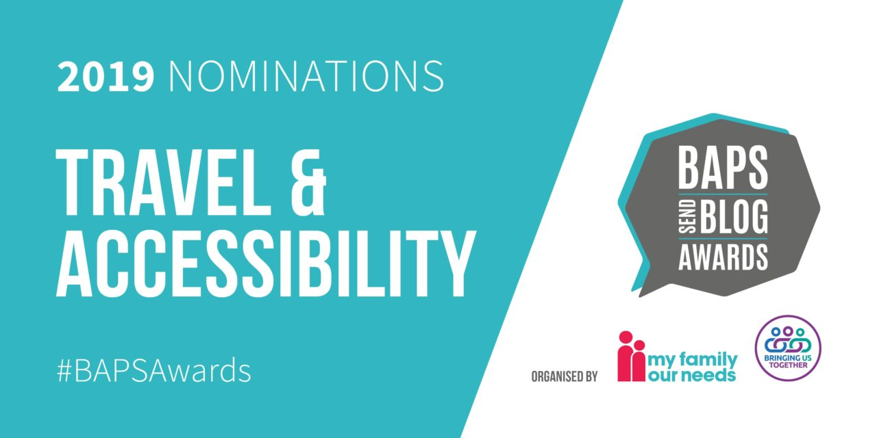 Nominees for the BAPS Awards 2019 Travel and Accessibility category