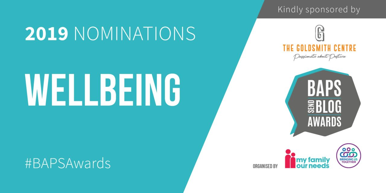 Nominations for Wellbeing blogger