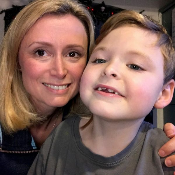 Aimee and her son freddie