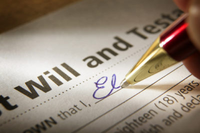 planning your will