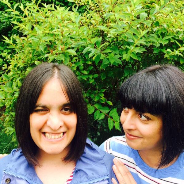 Made Possible author Saba and her sister Raana, credited to Maya Gould