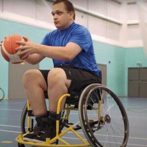 QAC students play wheelchair basketball