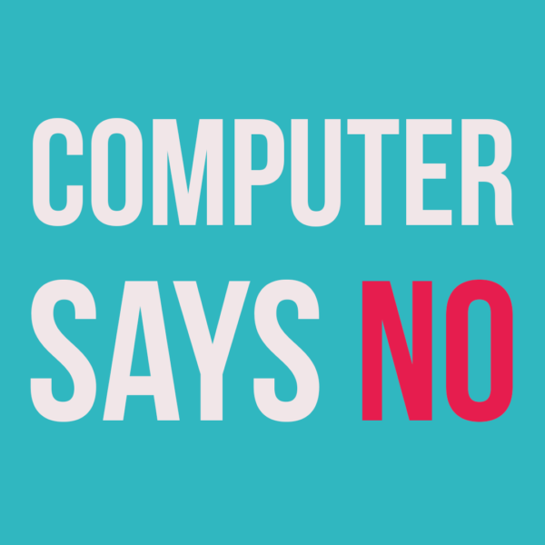 SDS budgets - computer says no!