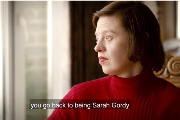 Actress Sarah Gordy