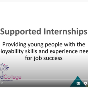 supported internships
