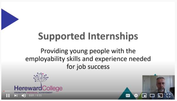 supported internships