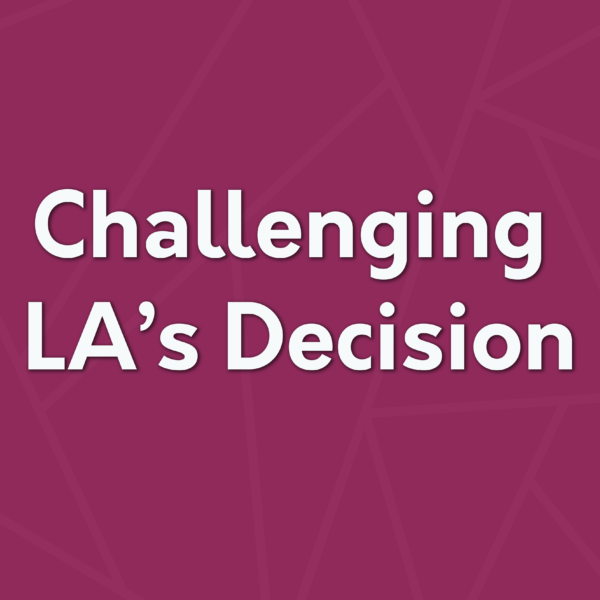 Challenging Local Authority decisions
