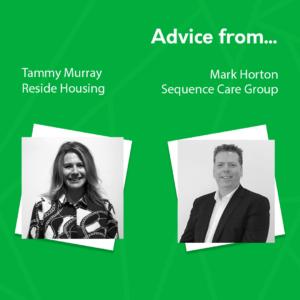 Advice from tammy murray and mark horton