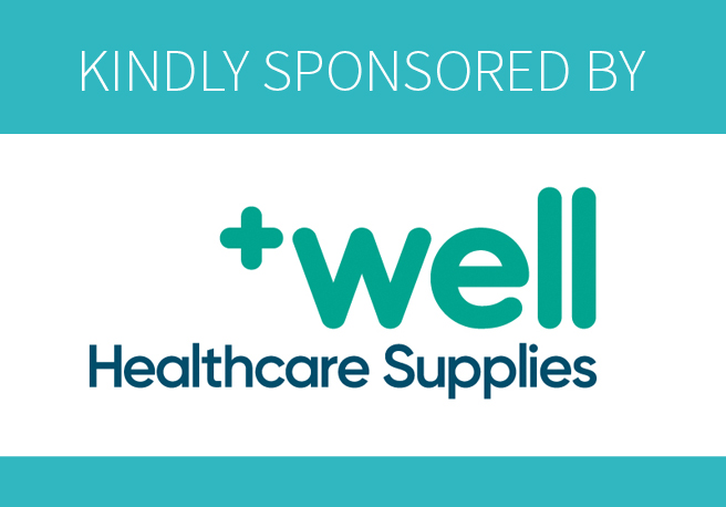 kindly sponsored by Well healthcare supplies
